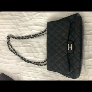 Authentic Chanel Classic Bag with flap